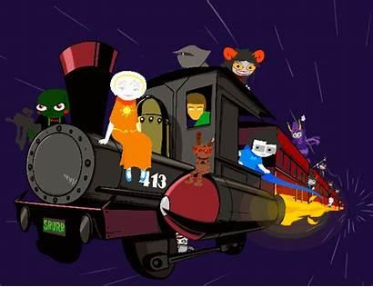 Homestuck Train Hype Gamzee Gifs 413 Meme