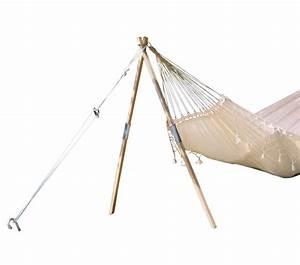Accrocher Hamac Arbre : trepied madera pour hamac amazonas ~ Premium-room.com Idées de Décoration