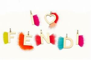 Fendi letter charm for Fendi letter pendant