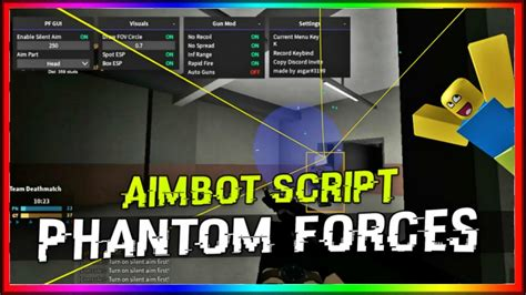 Just little gameplay of roblox: HACK Phantom Forces WORKING 2020