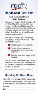 FL3-8015 Seat Belt - Click It or Ticket - Florida Info ...