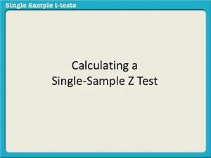 Single Spülmaschine Test : calculating a single sample z test ~ Michelbontemps.com Haus und Dekorationen