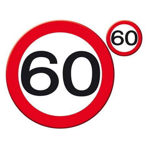 """Der baum im garten ist schon alt, drum ist er umso schöner halt. Untersetzer-Set 60. Geburtstag """"Verkehrsschild"""" 30 cm 8 ..."""