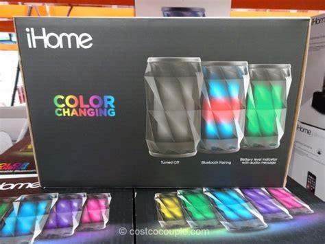 speaker that changes color speaker that changes color ihome ibt371bg color change