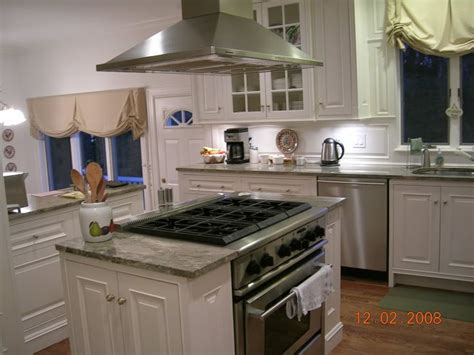 Kitchen Island With Sink - cupboards on either side of range to make an island for the home pinterest ranges