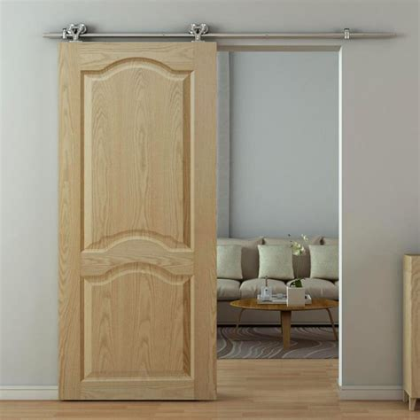 interior sliding barn slab doors  door hardware