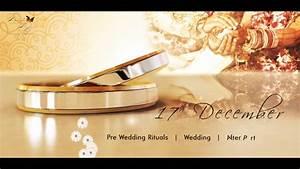 wedding invitation video, video invitation classy marriage invitation video YouTube
