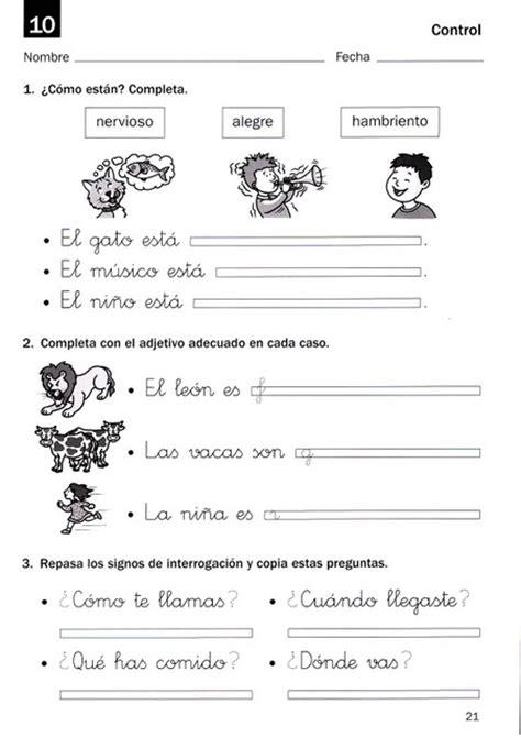 Kindergarten Reading Worksheets In Spanish Homeshealthinfo