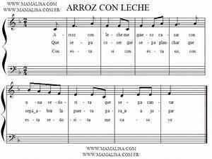 Arroz con leche Canciones infantiles españolas España Mamá Lisa's World en español