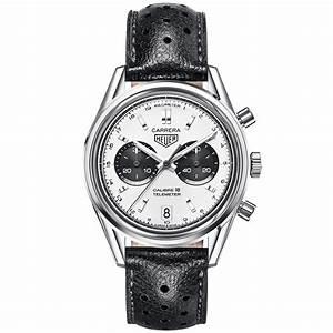 TAG Heuer Carrera Heritage 39mm Silver/Black Dial Men's Watch