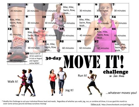 30-Day Move It Challenge