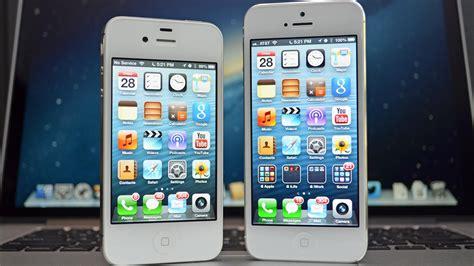 4s vs 5s image gallery iphone 4s vs iphone 5