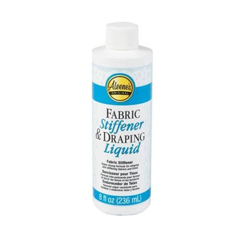 Fabric Stiffener And Draping Liquid - aleene s glue products craft diy project adhesives