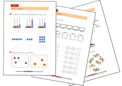 Fichas De Matemáticas 1º Primaria