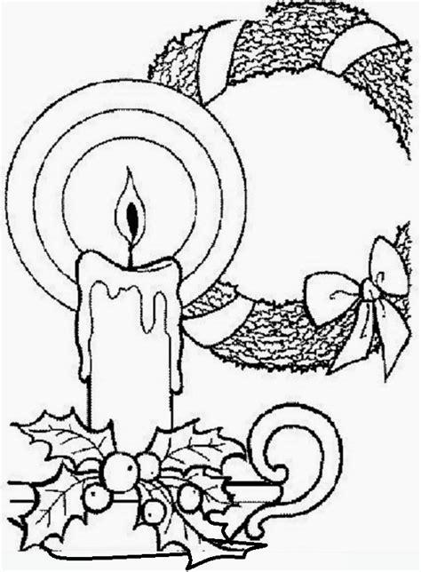disegni di candele sauvage27 candele di natale disegni da colorare