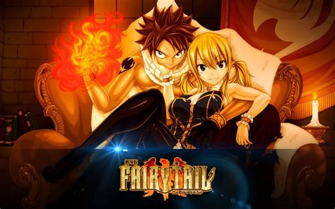 fairy tail lucy  natsu wallpapers wallpaper cave