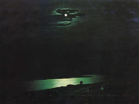 Arkhip Kuinji  Moonlit Night On The Dnieper