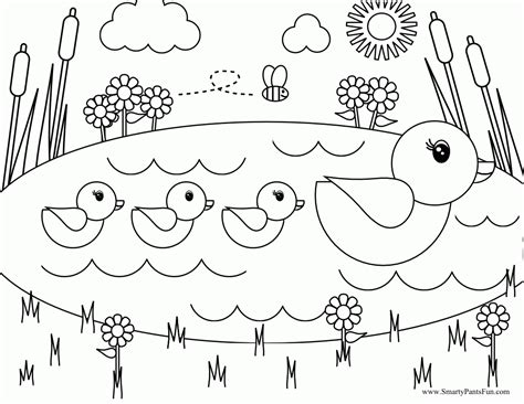 Free Coloring Pages Of A Frog In A Pond Coloring Home