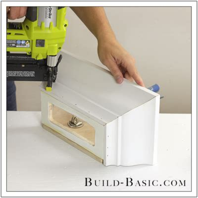 diy paper towel dispenser build basic
