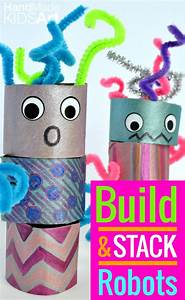 FREE Robot Themed Printables and Crafts