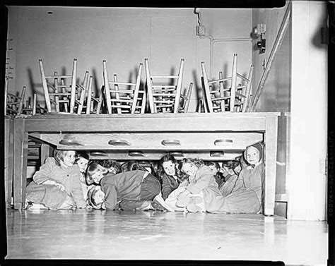 under the table jobs in philadelphia 1000 images about duck cover or air raid drill the cold