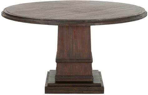 hudson rustic java   dining table rjav