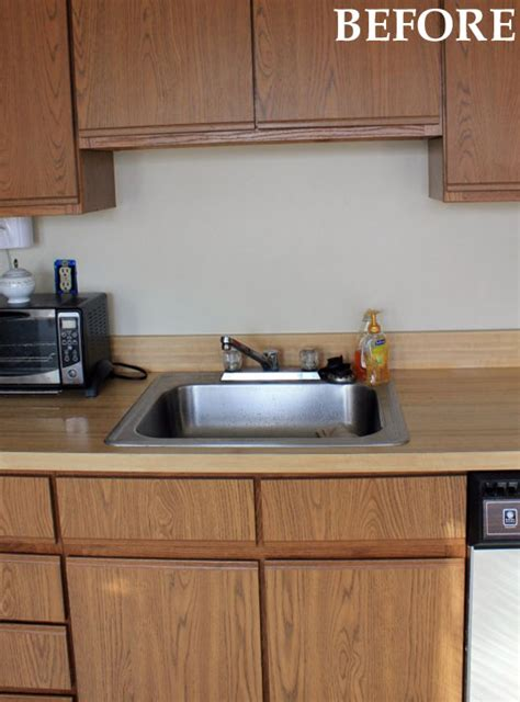 Before And After Dana & Ryan's Galley Kitchen Makeover
