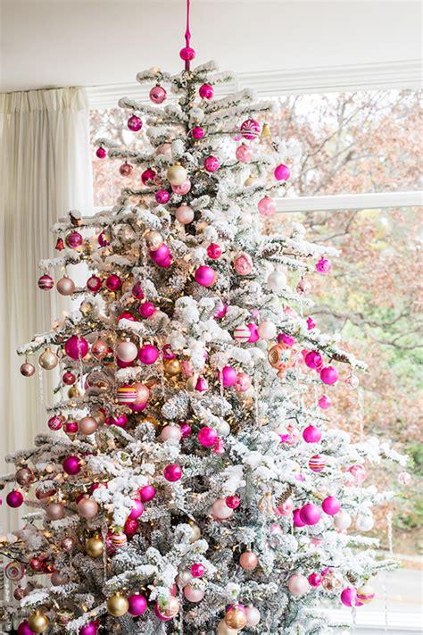 top  pink christmas trees christmas celebration