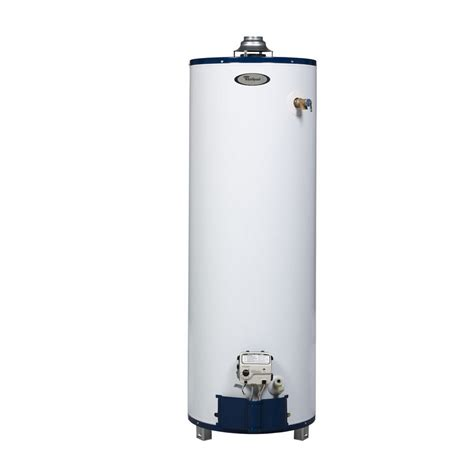 40 gallon water heater lowes shop whirlpool 50 gallon 6 year residential