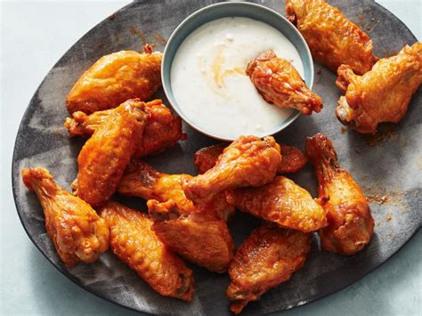 fryer wings chicken air food recipe network wing recipes honey meal kitchen sticky soy easy smoked restaurant whole fyer