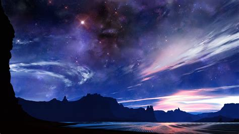 Anime Sky Wallpaper - anime sky wallpaper www pixshark images