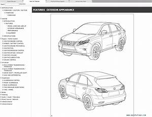 Lexus Rx450h  Gyl10  Gyl15  Repair Manual 2012  015 Download