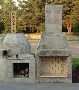 Home Decor: How To Build A Small Outdoor Fireplace ...