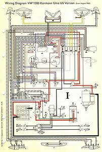 53154 1970 Vw Karmann Ghia Wiring Diagram