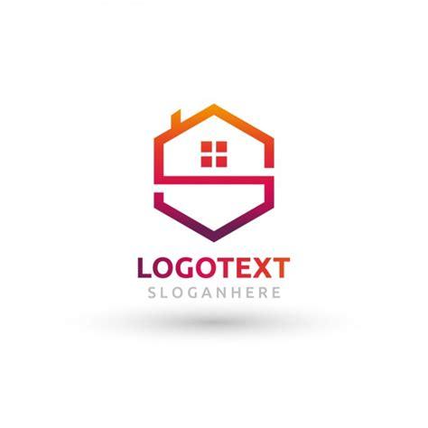 Polygonalhauslogo  Download Der Kostenlosen Vektor