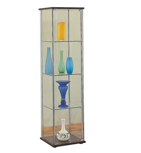 glass cabinet with lights glass curio cabinets dining room furniture office furniture