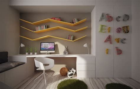 Kids Bedrooms With Cool Built-ins