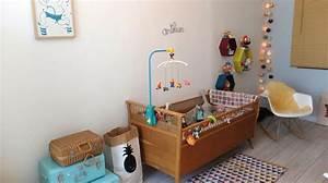 Décoration Chambre De Bébé : chambre de b b d coration et am nagement c t maison ~ Teatrodelosmanantiales.com Idées de Décoration