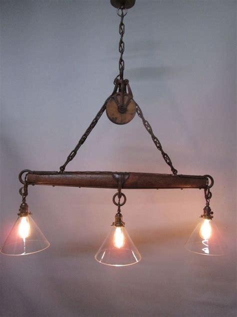 wonderful rustic light  perfect    bar