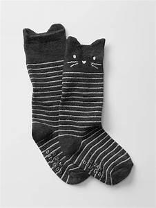 Gap Baby Stripe Cat Knee High Socks from Gap