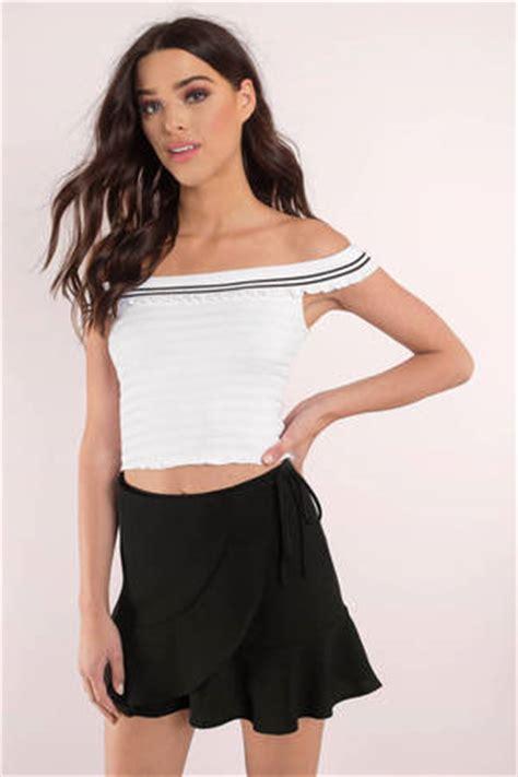 shoulder tops crop tops sweaters  tobi