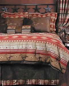 Flying Horse Bed Set King Size Western Bedding