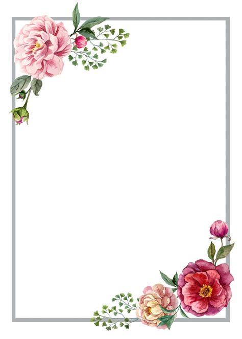floral roses invitation card molduras  convites de