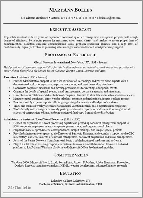 Executive Assistant To Ceo Resume by 73 Stock Of Resume Exles For Executive