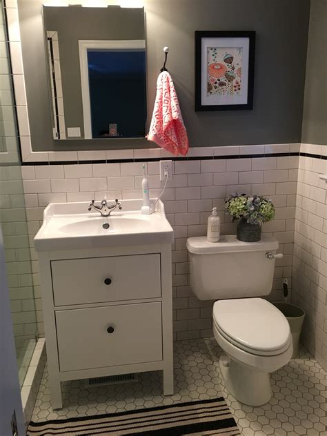 small vanity sink ikea small bathroom with ikea sink and hemnes cabinet