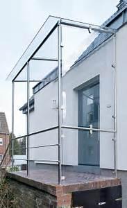 Windfang Hauseingang Aus Glas : vordach aus edelstahl treppen fenster balkone ~ Markanthonyermac.com Haus und Dekorationen
