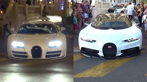 Are Bugattis In The Us by A Bugatti Chiron And Veyron Scrape Their Chins On