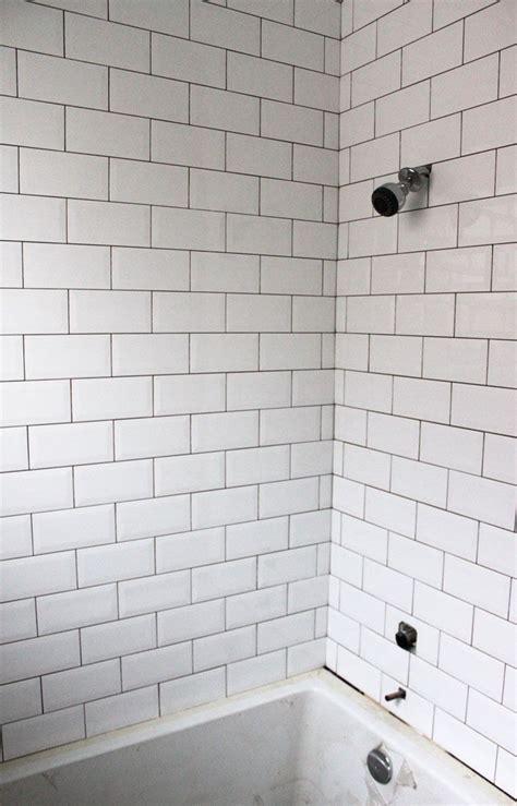 white beveled subway tile bathroom bevelled subway tile