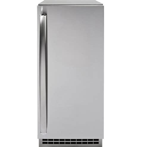 general electric pipss ge profile series stainless steel ice maker door kit door panel