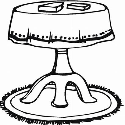 Table Coloring Household Pages